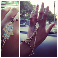 Hamsa Slave Bracelet