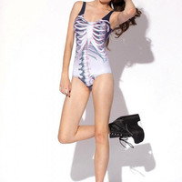 Black Milk Clothing - 3D Ribs Swimsuit