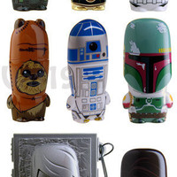 Star Wars USB Flash Drives: R2-D2, C3PO, Darth Vader, and Wicket