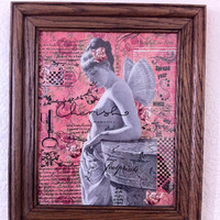 Cherish Your Beauty Another Framed Assemblage By AlteredHead