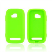 Buy Nokia Lumia 710 Silicone Case Neon Green Shipped Free in US AccessoryGeeks