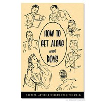 How to Get Along with Boys Book - Whimsical & Unique Gift Ideas for the Coolest Gift Givers
