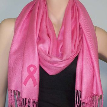Breast Cancer Pashmina