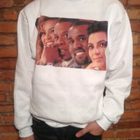 Beyonce Jay Z Kanye West Kim Kardashian Sweatshirt - Limited Print - All Sizes Exclusive KIMYE 1 of 500