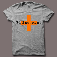 Hot Ed Sheeran Orange Cross Logo Color Men T Shirt Tee ED065