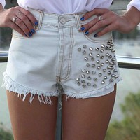 BLEACH SPIKE SHORTS , DRESSES,,Shorts Australia, Queensland, Brisbane