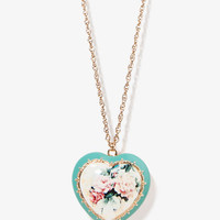 Heart Pendant Necklace | FOREVER 21 - 1025100509
