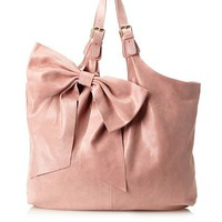 RED Valentino Women&#x27;s Bow Tote, Pink, One Size at MYHABIT