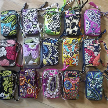 NWT New Vera Bradley All In One Wristlet In 17 Patterns To Choose~ $36 Low Price