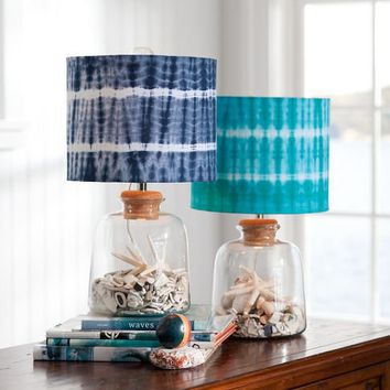 Bottle-It Bedside Lamp + Shade