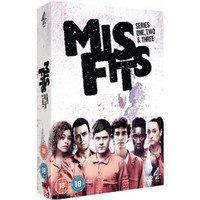Misfits - Series 1-3 [DVD]: Amazon.co.uk: Robert Sheehan, Lauren Socha, Nathan Stewart-Jarett, Antonia Thomas: Film & TV