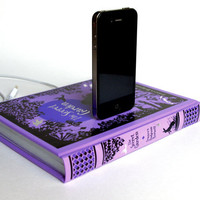 $54.00 Secret Garden Book Charging Dock for iPhone by RichNeeleyDesigns