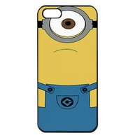 Despicable Me Minion Apple iPhone 5 Case (Black)