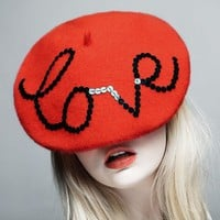 JANUARY SALE The Love Beret discontinued line by zaracarpenter