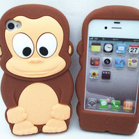 Chocolate Monkey 3D Cute...