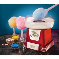 Amazon.com: Retro Series Hard and Sugar-Free Cotton Candy Maker in Red: Kitchen & Dining