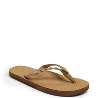 Rainbow &#x27;Flirty&#x27; Braided Leather Flip Flop | Nordstrom