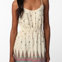 UrbanOutfitters.com &gt; Ecote Embellished Hem Dress