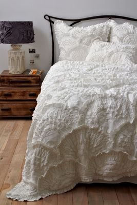 Rivulets Quilt, Cream - Anthropologie.com