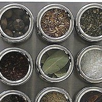 see &amp; store magnetic spice rack by mocha | notonthehighstreet.com