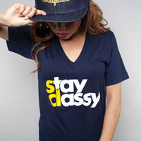 The Stay Classy VNeck : Adapt : Karmaloop.com - Global Concrete Culture