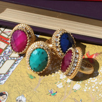Pree Brulee - Princess Laila Ring - in 5 different colors