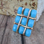 Pree Brulee - Sparkling Tic Tac Toe Ring