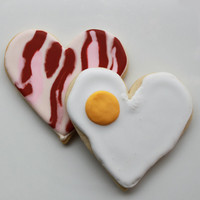 You&#x27;re the Bacon to My Eggs Valentine Gift Box by whippedbakeshop