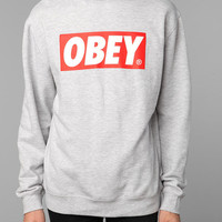 Urban Outfitters - OBEY The Box Crew Sweatshirt