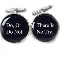 Do Or Do Not Cufflinks Do, Or Do No.. on Luulla