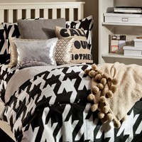 Houndstooth Fairy Duvet/Sham Set - Bedding