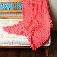 Free People Cable Knit Throw