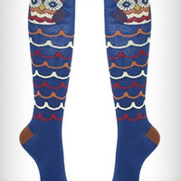 Mod Owl Knee Socks | PLASTICLAND