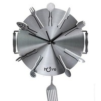 Brief Symphony Kitchen Wall Clock