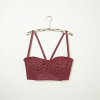 Free People FP New Romantics Woven Bustier
