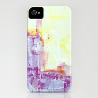 pink and yellow whitewash iPhone Case by Romi Vega | Society6