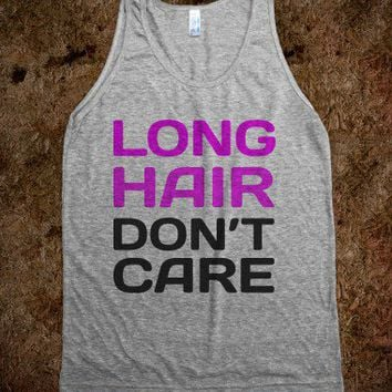 LONG HAIR DONT CARE  - Jordan Designs