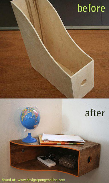 diy ideas wooden magazine rack into a from