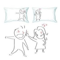  BoldLoft &quot;Oops...My Bad!&quot; Couple Pillowcases-Cute Valentines Gifts,Valentines Pillowcases,Valentines Day Romantic Gifts,Unique Valentines Day Gifts: Home &amp; Garden