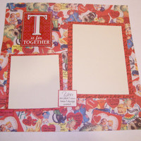 Vintage Love Valentine's Day Scrapbook Page by StrictlyCute