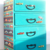 Race Car Treasure Box Wooded by StrictlyCute on Etsy
