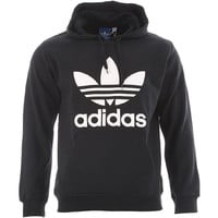 Adidas Originals Trefoil Hoody - Black-White at Urban Industry