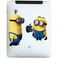 Amazon.com: Minions for iPad Decal Mac Apple iPad case skin sticker: Everything Else