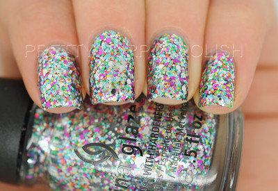 New China Glaze Nail Polish in PIZZAZZ