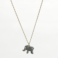 Factory enamel critter charm necklace