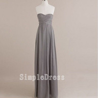 Custom Beach Sweetheart Sleeveless Floorlength by Simpledress
