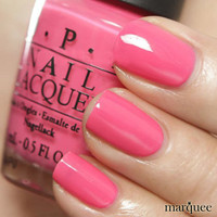 OPI Nail Polish (I42-ElePhantastic Pink) NEW India Collection CREAMY PINK COLOR