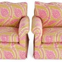 One Kings Lane - Michelle Nussbaumer - Sultana Club Chairs, Pair