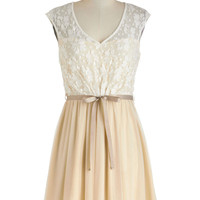 White Haute Cocoa Dress | Mod Retro Vintage Dresses | ModCloth.com