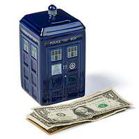 Doctor Who Ceramic TARDIS Bank